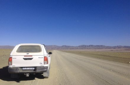 viaggio on the road in Namibia