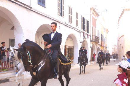 parata di cavalieri