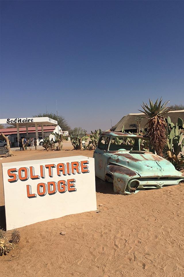 Solitaire. La torta di mele più buona della Namibia