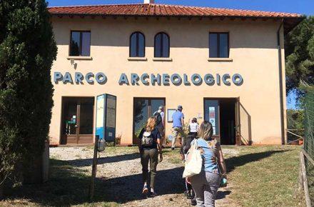 Entrata del Parco Archeologico