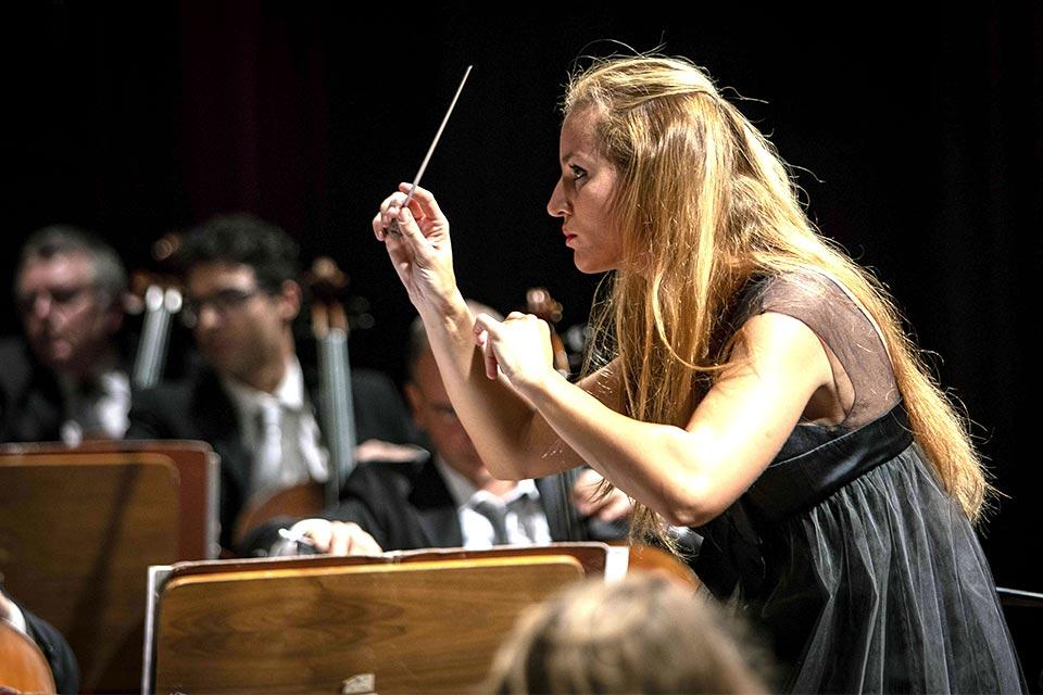 maestro Beatrice Venezi