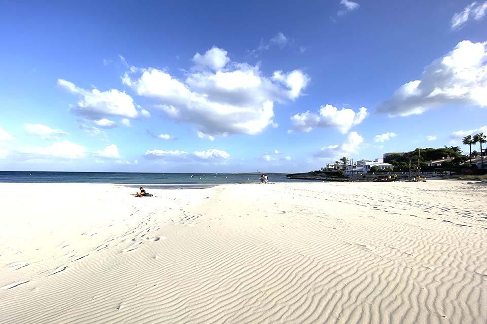 La spiaggia di Punta Prima